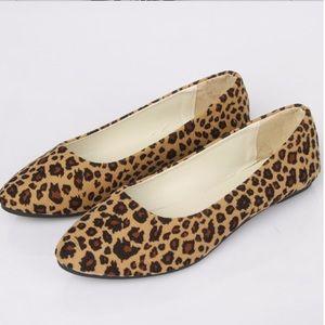 Shoes - Leopard Animal Print Flats
